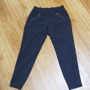 Athelta Black Lounge Pants   size 4